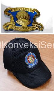 Emblem Baret dan Topi Satpol PP