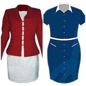 seragam kerja wanita